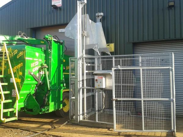 composting shredder machine