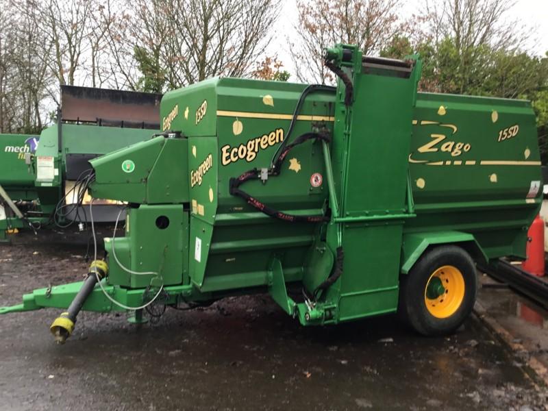 15 cubic metre Eco Green Composting machine